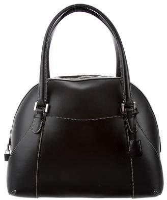 Valextra Textured Leather Bag