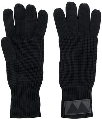 Marc by Marc Jacobs ribbed knit gloves