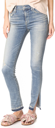 Citizens of Humanity Rocket Jeans with Split Hem $238 thestylecure.com