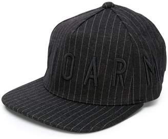 Emporio Armani logo striped cap