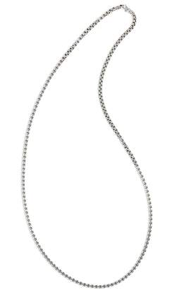 Tom Wood TOM WOOD Venetian Double Chain Necklace