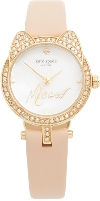 Kate Spade New York Meow Watch $195 thestylecure.com