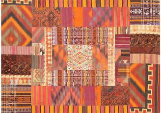 """One Kings Lane Vintage Patchwork Rug - 6'5"""" x 9'5"""" - Pasargad"""