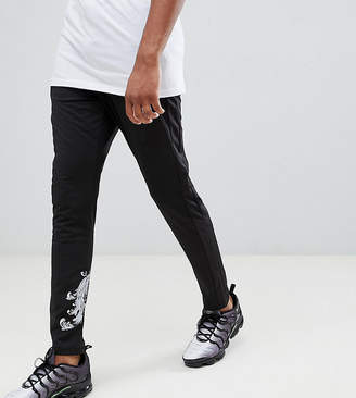 Criminal Damage Joggers In Black Baroque Print Exclusive To ASOS