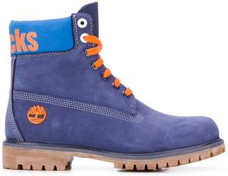 Timberland X NBA New York Knicks boots