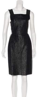 Alberta Ferretti Glitter A-Line Dress