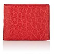 Barneys New York Men's Alligator Billfold - Red