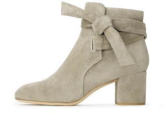 Dalia Boot – Stone Suede $575 thestylecure.com