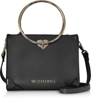 Mario Valentino Valentino By Eco Leather Aladdin Small Tote Bag w/Detachable Shoulder Strap