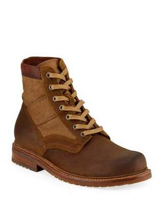Frye Men's Mayfield Leather Combat Boots