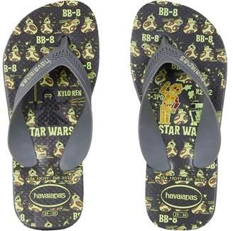 Havaianas Max Star Wars Flip Flops Boys Shoes