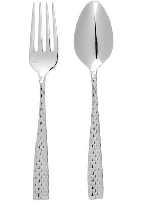 Fortessa Lucca Facceted 2Pc Serving Set
