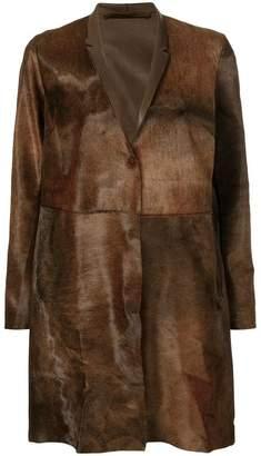 Salvatore Santoro concealed button coat