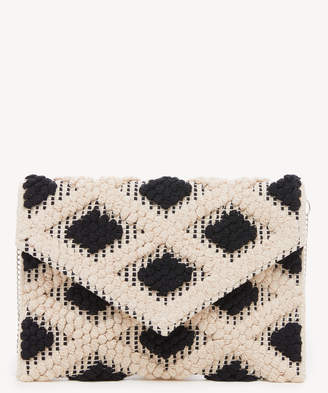 Sole Society Women's Jaam Clutch Fabric Black Multi From