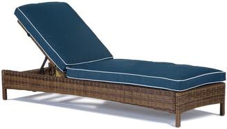 Crosley Furniture Bradenton Patio Chaise Lounge Chair