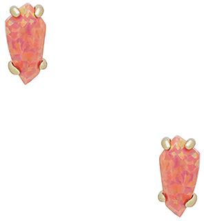 Kendra Scott Jillian Earrings in Metallic Gold. $70 thestylecure.com