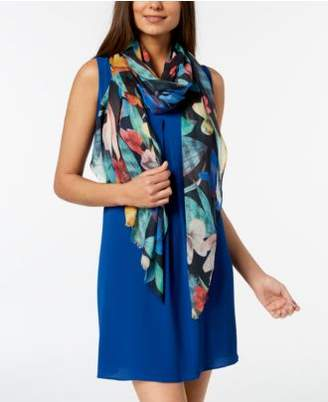 Echo Hobart Floral Scarf & Cover-Up