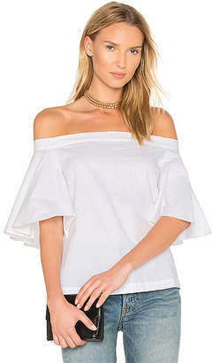 MLM Label Highlight Top in White $154 thestylecure.com
