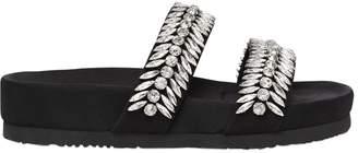 20mm Embellished Neoprene Slide Flats