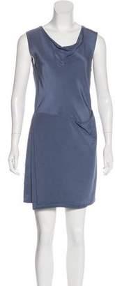 3.1 Phillip Lim Scoop Neck Silk Mini Dress