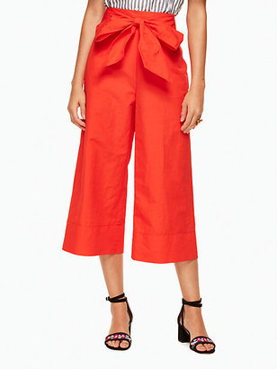 Slub cotton culotte $228 thestylecure.com