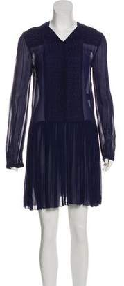 Etoile Isabel Marant Pleated Mini Dress