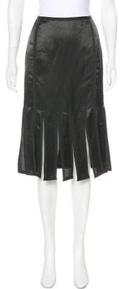 Thom Browne Linen-Blend Knee-Length Skirt w/ Tags