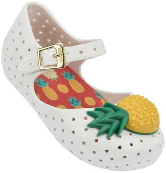 Mini Melissa Pineapple Mary Janes $58 thestylecure.com