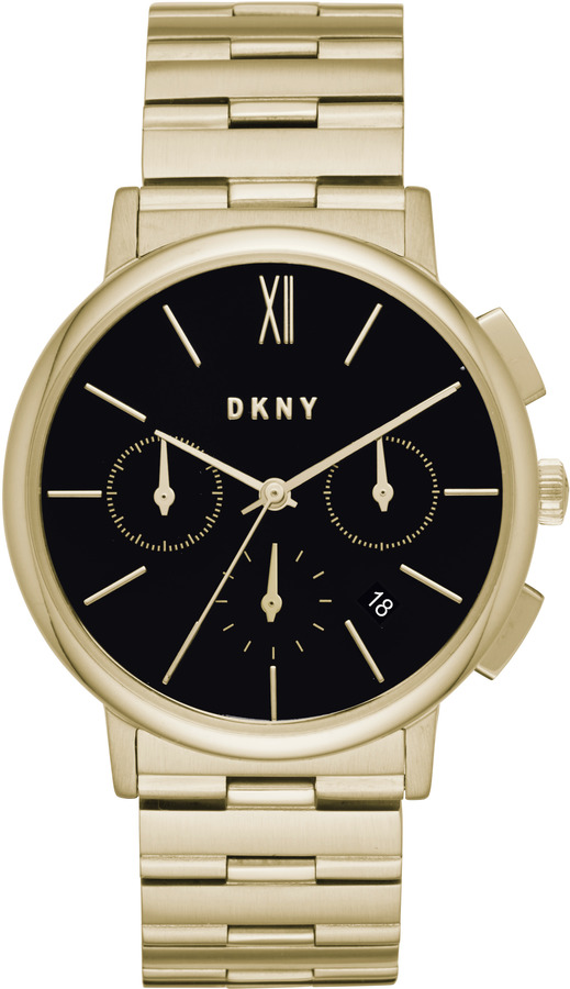 DKNYWilloughby Gold-Tone Stainless Steel Chronograph Watch