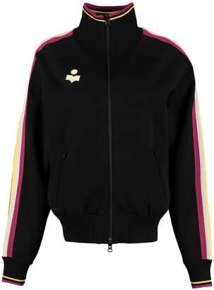 Etoile Isabel Marant Darcey Knitted Full-zip Sweatshirt