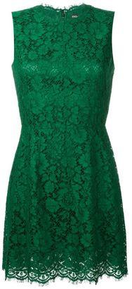 Dolce & Gabbana floral lace mini dress $2,145 thestylecure.com