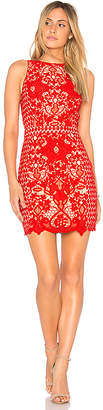Endless Rose x REVOLVE High Neck Floral Crochet Dress