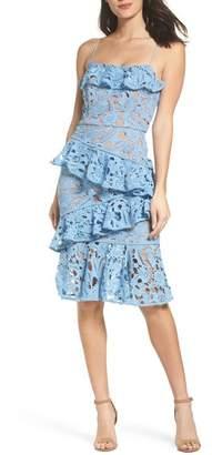 Cooper St Lace Parfait Ruffle Dress