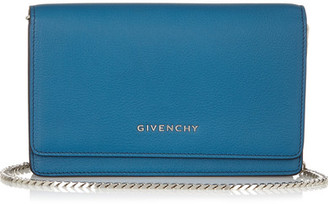 Givenchy - Pandora Shoulder Bag In Cobalt Leather - Cobalt blue $1,195 thestylecure.com