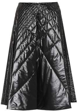 Noir Kei Ninomiya Moncler Genius 6 MONCLER quilted skirt
