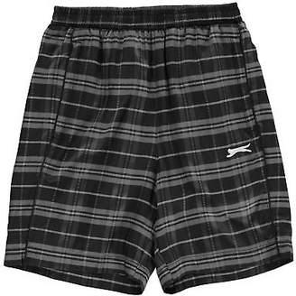 Slazenger Kids Boys Graphic Shorts Junior Woven Pants Trousers Bottoms