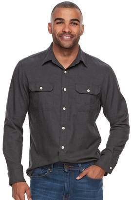 Sonoma Goods For Life Men's SONOMA Goods for Life Modern-Fit Button-Down Utility Shirt