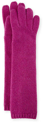 Portolano Long Cashmere Smart Gloves $71 thestylecure.com