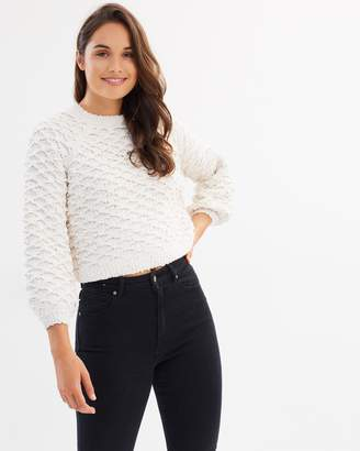 Only Detailed Knitted Pullover