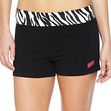 JCPenney Contrast Band Shorts