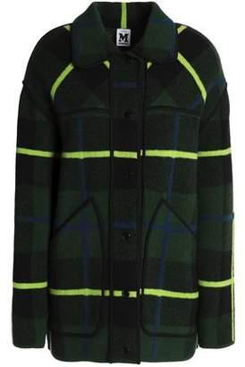 M Missoni Checked Wool Coat