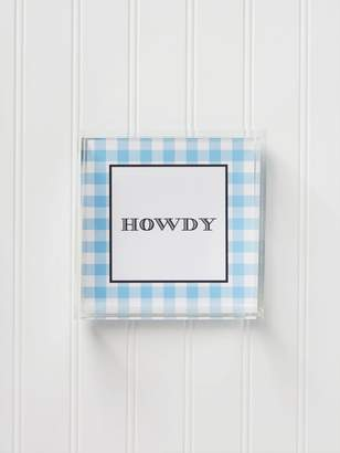Draper James Small Howdy Acrylic Tray