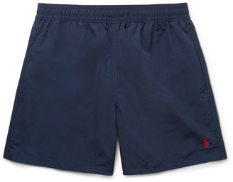 Polo Ralph Lauren Hawaiian Mid-Length Swim Shorts $60 thestylecure.com