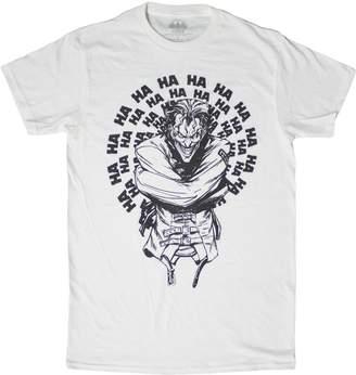 Fifth Sun Men's DC Comics Joker Joking Straight Jacket T-Shirt