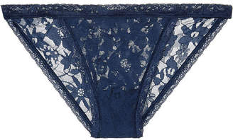 Victoria's Secret The Lacie Floral Lace String Bikini Panty