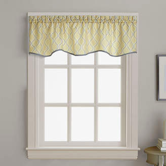 CHF Morocco Rod-Pocket Scalloped Valance