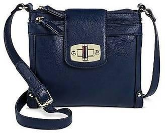 Merona; Women's Solid Crossbody Faux Leather Handbag with Turnlock Closure - Merona&#... $26.99 thestylecure.com