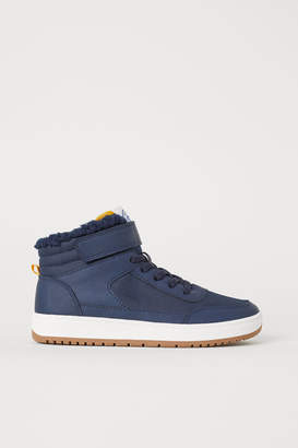 H&M Pile-lined High Tops - Blue