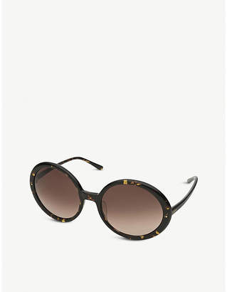 Folli Follie SG1B006WB oval-frame sunglasses