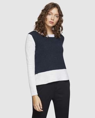 Oxford Alex Colour Block Knit